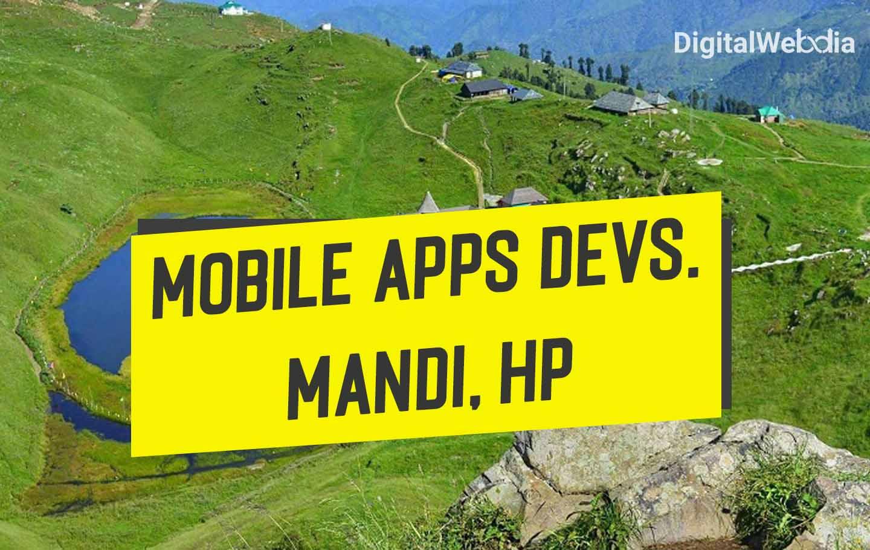 Mobile Apps Development Agency in Mandi, Himachal Pradesh