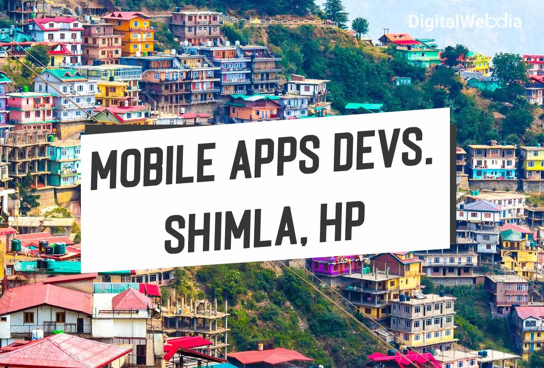 #1 Mobile Apps Development Agency in Shimla, Himachal Pradesh
